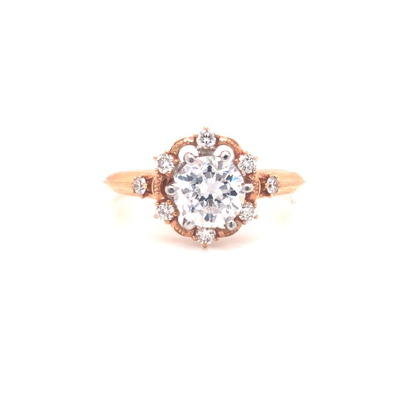 Cline Floral Inspired Diamond Ring