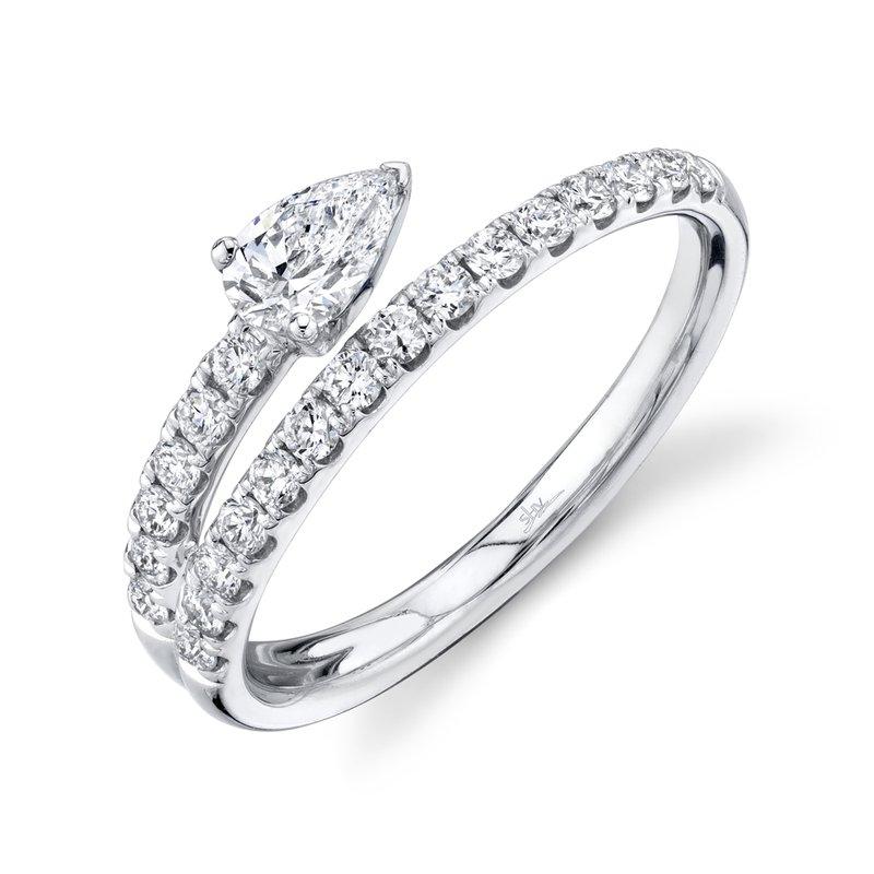 Cline Pear Diamond Ring