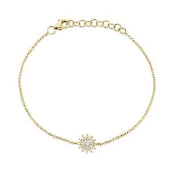 Diamond Starburst Bracelet