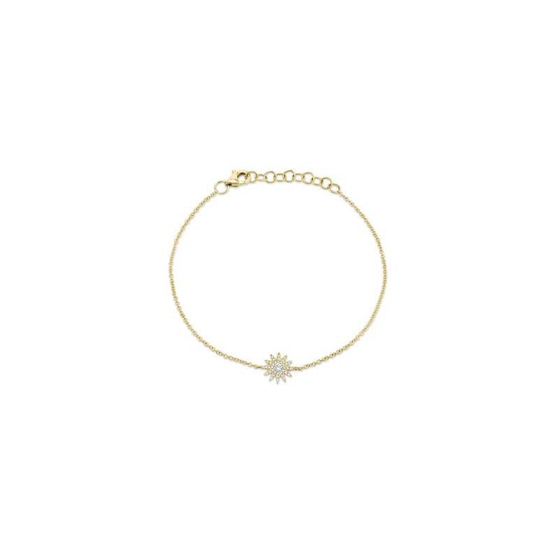 Cline Diamond Starburst Bracelet
