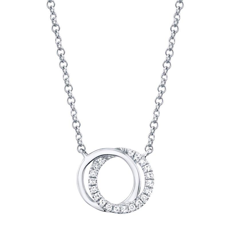 Cline Diamond Love Knot Necklace
