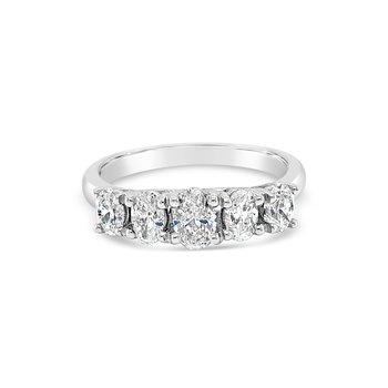 Oval Diamond 5-Stone