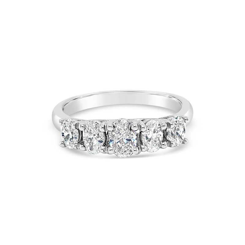 Cline Oval Diamond 5-Stone