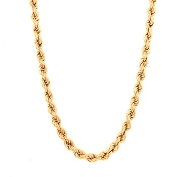 Estate Rope Chain Necklace