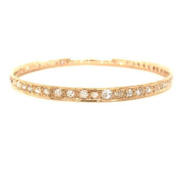 Estate Diamond Bangle