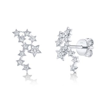 Diamond Constellation Earrings