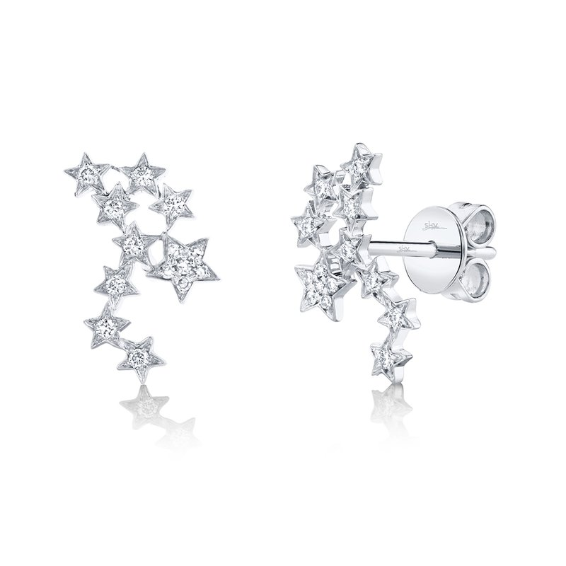 Cline Diamond Constellation Earrings