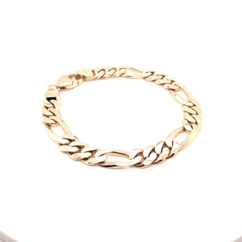 Estate Gold Chain Bracelet