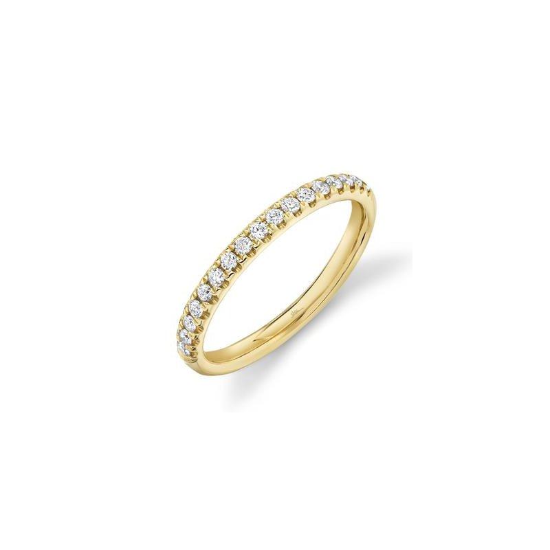 Cline 14k Yellow Gold Diamond Band (0.25ctw)