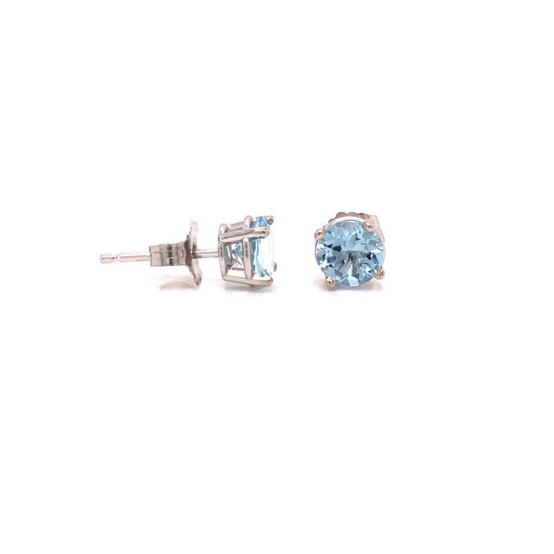 Cline Custom Aquamarine Earrings