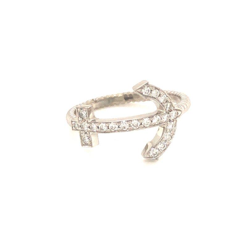 Cline Custom Diamond Anchor Ring
