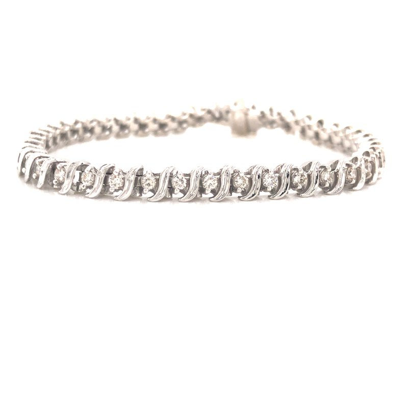 Cline Estate Diamond Tennis Bracelet