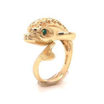 Estate Fashion Dolphin Ring