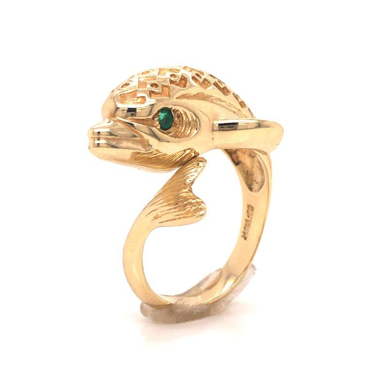 Cline Estate Fashion Dolphin Ring