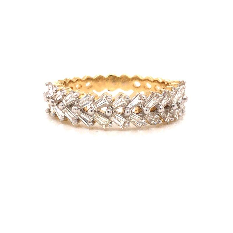 Cline Baguette Diamond Ring