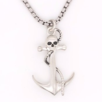 Anchor with Skull
