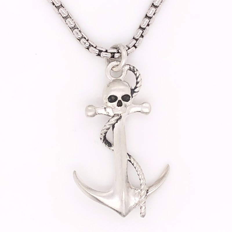 Cline Custom Anchor with Skull