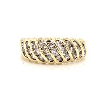 Estate Diamond Dome Ring