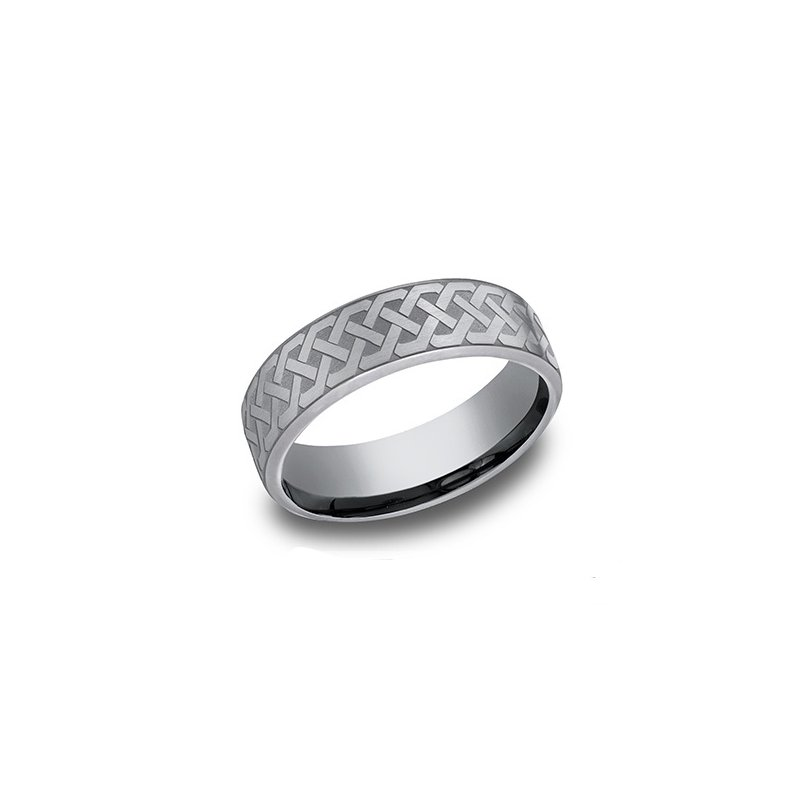 Cline  Comfort-Fit Wedding Band