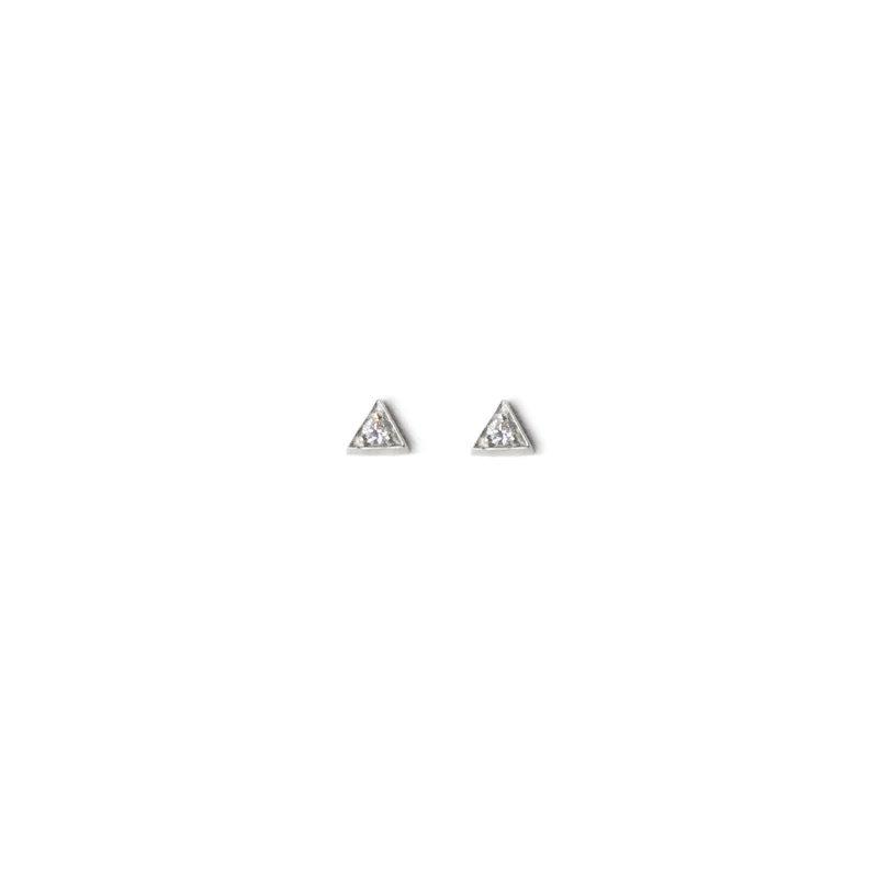 Anzie Cléo Triangle Studs