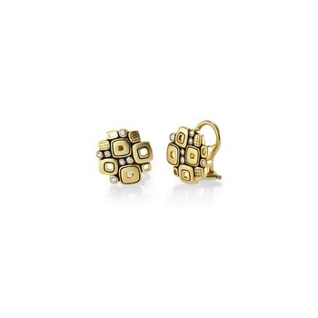 "Diamond ""Little Windows"" Earrings"
