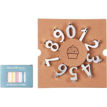 Let's Celebrate 10-Piece Number Candleholder Set