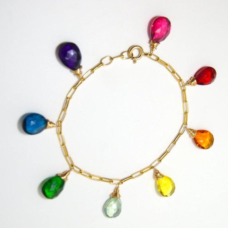 Mined and Found Rainbow Chroma Bracelet