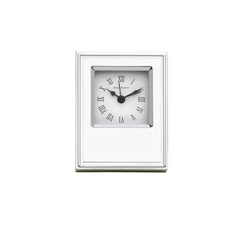 Classic Silverplate Desk Clock