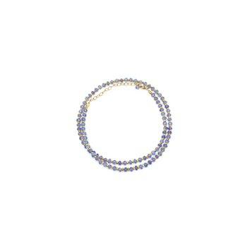 "Kenzie One by One Tanzanite 18"" Necklace"