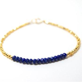 Kenzie Bar Lapis Bracelet