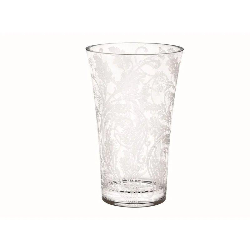 "Christofle Crystal Orangerie 12"" Vase"
