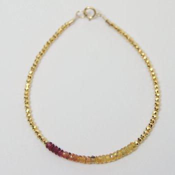 Kenzie Bar Songea Sapphire Bracelet