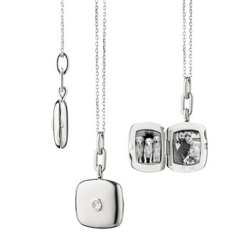 "SS Slim Cushion ""Viv"" Locket"