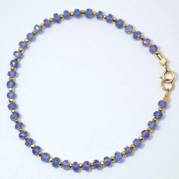 Kenzie One by One Tanzanite Bracelet