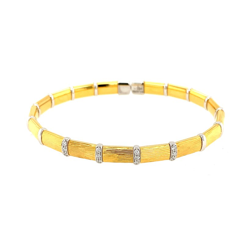 Henderson Collection Firenze Vermeil and Diamond Bracelet