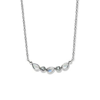 Classique Curve Bar Necklace