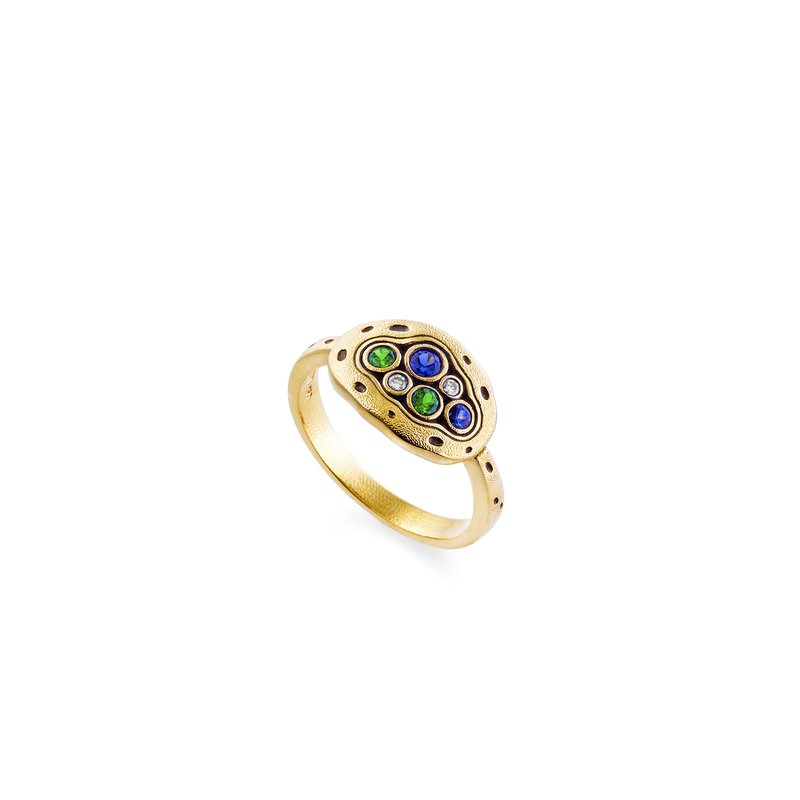 "Alex Sepkus Sapphire ""Little Pool"" Ring"