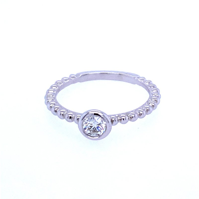 Forevermark 18KW .23ctw Diamond 'Tribute' Band