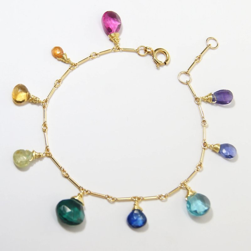 Mined and Found Classic Rainbow Bracelet