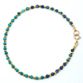 Kenzie One by One Chrysocolla Bracelet