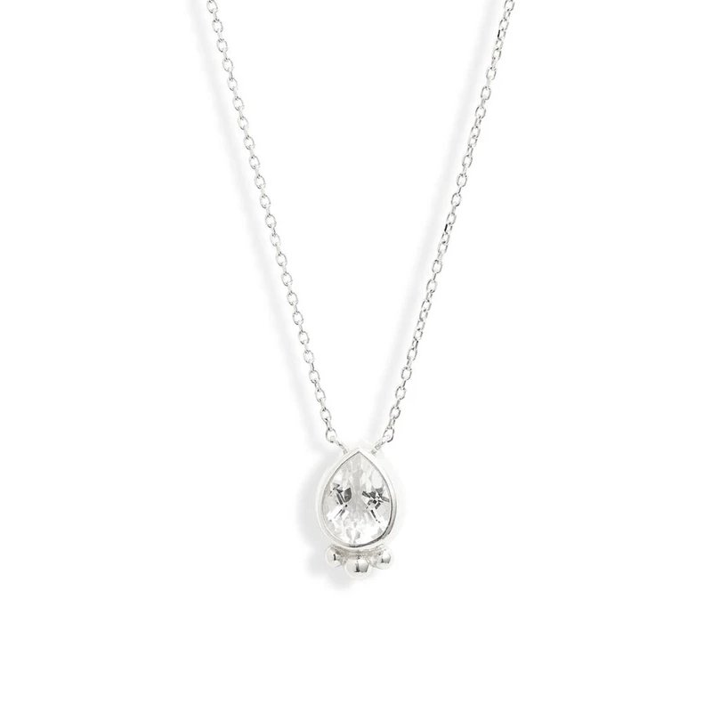 Anzie Dew Drop Pear Necklace