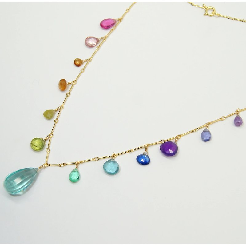 Mined and Found Classic Rainbow Necklace