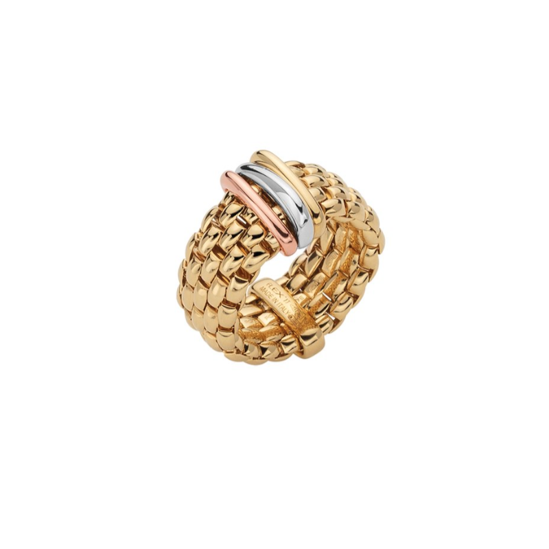 "FOPE 18KT ""Panorama Collection"" Flex Ring"
