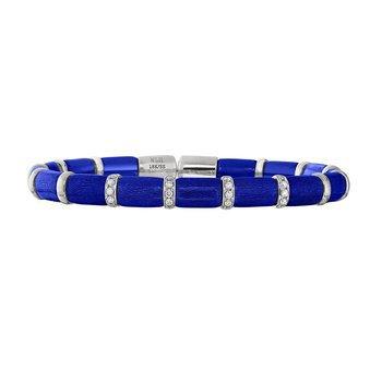 Firenze Sapphire Enamel Bracelet