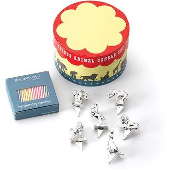 Happy Birthday Circus Candle Set Box