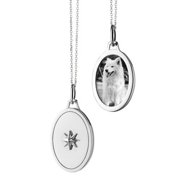 SS Starburst Locket