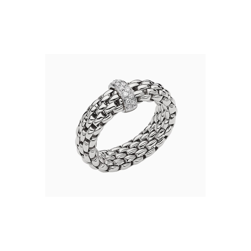 """FOPE 18KT """"Vendome Collection"""" Flex Ring"""