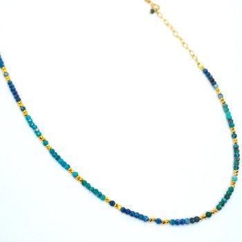 Kenzie Chrysocolla Necklace