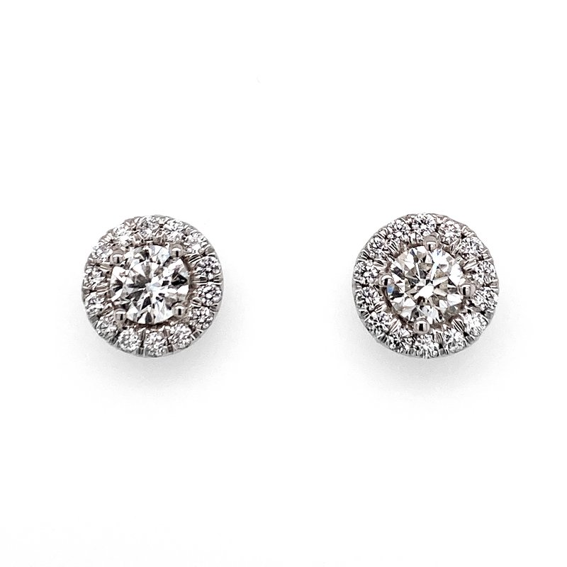 Forevermark 18KW 1.11ctw Center of My Universe Studs