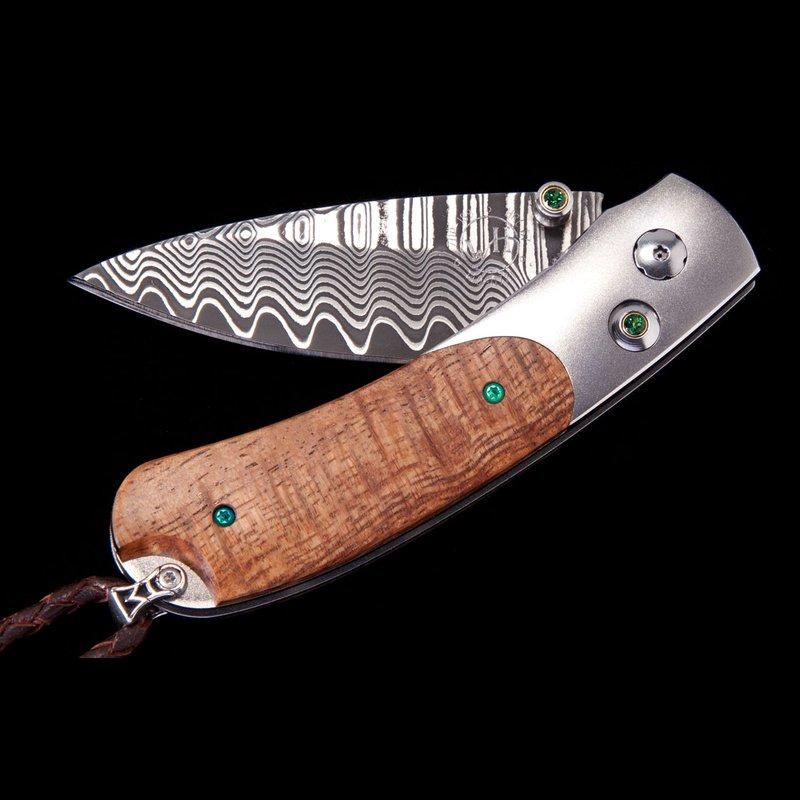 William Henry The Kestrel Emerald Bay Pocket Knife